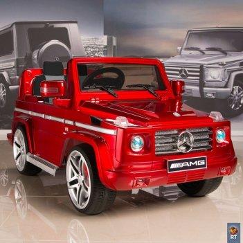 Dmd-g55 электромобиль mercedes-benz amg new version 12v r/c red с резиновы