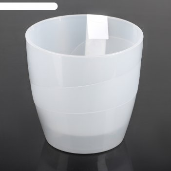 Кашпо 2,8 л грация, прозрачное