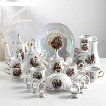 Сервиз чайный романс. мадонна 31 предмет