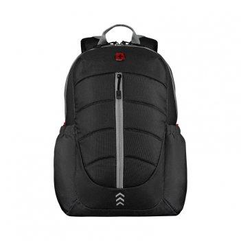 Рюкзак wenger engyz 16, чёрный, 100% полиэстер, 33х20х46 см, 21 л
