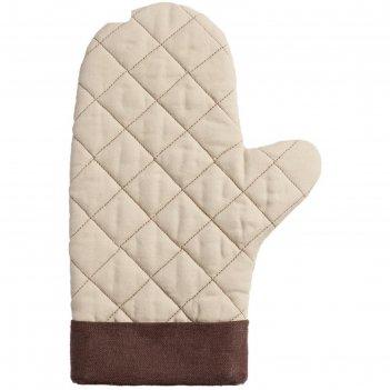 Прихватка-рукавица keep palms, цвет бежевый