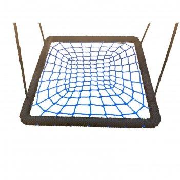 Качели гнездо квадратные 120см на канатах