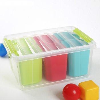 Ящик для хранения игрушек 15 л профи kids