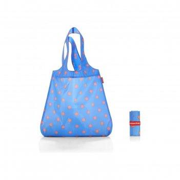 Сумка складная, размер 43,5 x 60 x 7 см, цвет голубой at4058