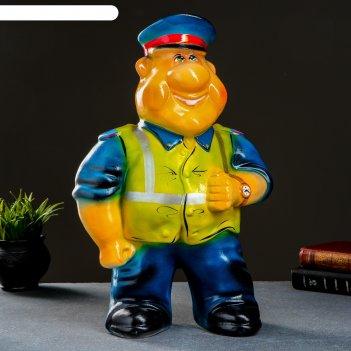 Копилка полицейский дпс ручная роспись