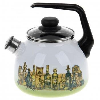 Чайник со свистком 3 л сицилия
