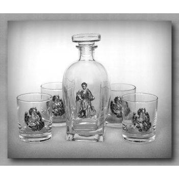 Набор для виски 307  гусарский. арт. ншт307гс-24