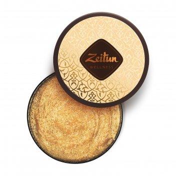 Сияющий скраб для тела zeitun «ритуал восстановления» с органическим масло