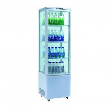 Холодильный шкаф gastrorag rt-235w, витринного типа, 250 вт, 235 л, от 0 д