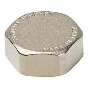 Заглушка stout, никелированная, наружная резьба 1, sft-0027-000001