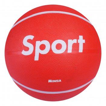 Мяч баскетбольный minsa sport, размер 7, pvc, бутиловая камера, 500 г