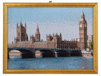 Гобеленовая картина биг-бен 38х28см.