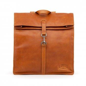 Рюкзак-сумка klondike digger «mara», натуральная кожа цвета коньяк, 32,5 x
