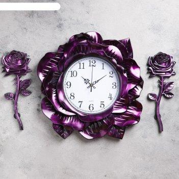 Часы настенные, серия: интерьер, билер, 80х42 см