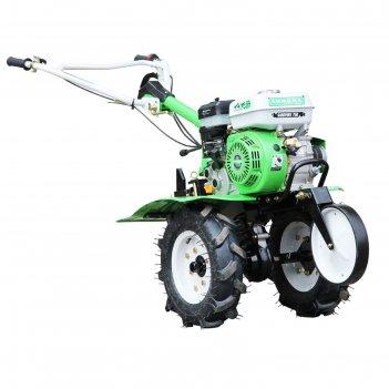 Мотоблок бензиновый aurora gardener 750 11774, 4.8 квт, 350х1050 мм, фрезы