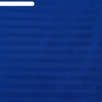 Пододеяльник этель basic 175*215 ± 3см, цв.темно-синий,страйп-сатин,125 гр