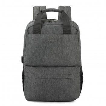 Рюкзак с usb,  для ноутбука, tigernu t-b3508 серый, 15.6