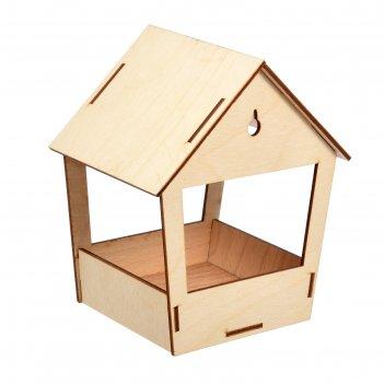 Кормушка для птиц,19 x 15,5 x 12 см