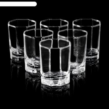 Набор стопок для водки 6 шт 60 мл кошем