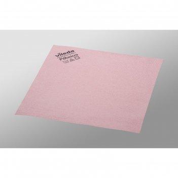 Салфетка для профессиональной уборки pva micro 38х35 см, цвет красный
