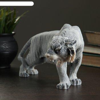 Сувенир тигр большой 13,3см