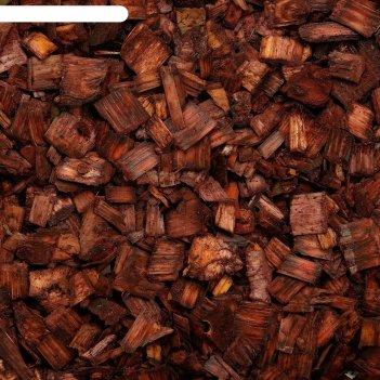Щепа декоративная 5 л. коричневый