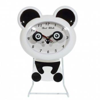 Часы настольные декоративные мишка, l16 w6,5 h24,5 см, (1хаа не прилаг.)