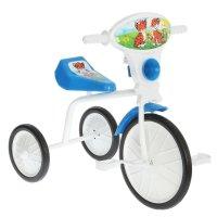 Велосипед трехколесный  малыш  01, цвет: синий