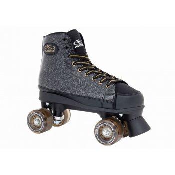 Роликовые коньки hudora roller skates black glamour, gr.  38 (13092)