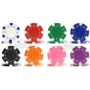 Фишки для покера профессиональные без номинала dice