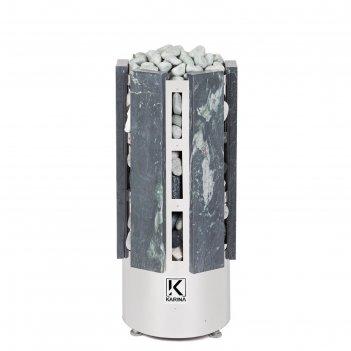 Электрическая печь karina forta 12, нержавеющая сталь, камень талькохлорит