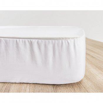 Наматрасник водонепроницаемый terry dry, размер 160 x 200 см, махра+бок м/