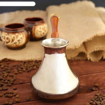 Турка  для кофе звезда востока 0,55л  цельная