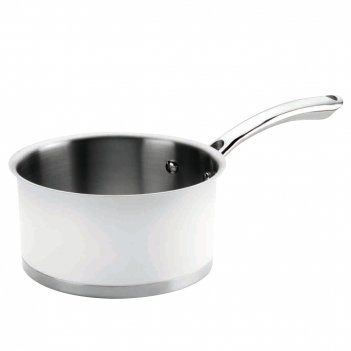 Ковшик 1,5 л, диам. 16 см, серия cookware white, lacor, испа