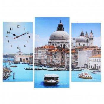 Часы настенные модульные «венеция», 60 x 80 см