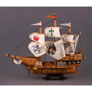 Модель корабля высота=41 см длина=50 см