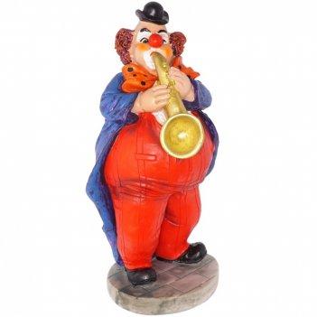 Фигурка декоративная клоун, l11w10h21,5см