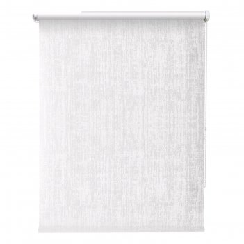 Рулонная штора «кембридж», 80х175 см, цвет белый