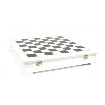 Шахматный ларец стаунтон черно-белый, 45мм