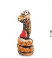 Kk- 22 фигурка змея шамот