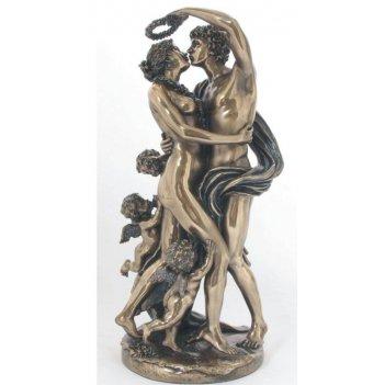 Фигурка декоративная влюбленная пара, 16х14х32 см