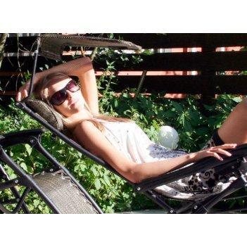 Скидка 35%  раскладное кресло-шезлонг zd-1 (б/у, самовывоз склад москва)