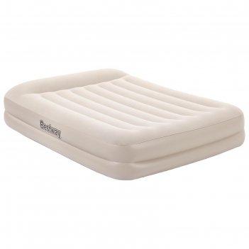 Кровать надувная queen, 203 x 152 x 42 см, со встроенным электронасосом, 6