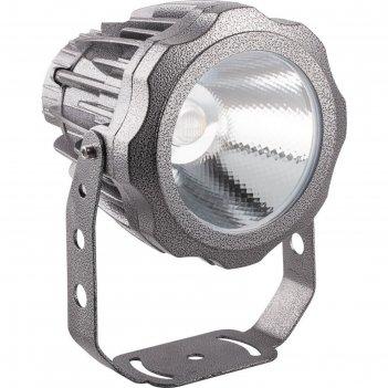 Прожектор светодиодный ll-887, 20w, свет холодный белый, ip65, цвет металл