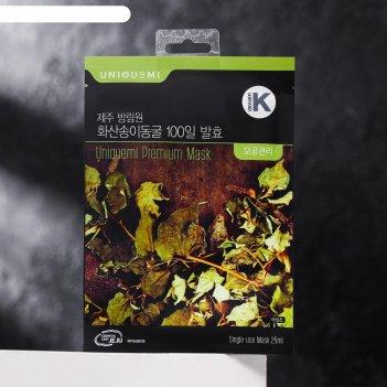 Тканевая премиум-маска uniquemi, успокаивающая, с экстрактом eoseongcho с