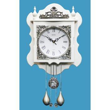 Настенные часы с маятником sinix 2145 w
