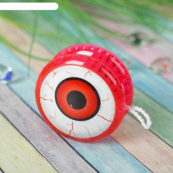 Йо-йо глаз световой, цвета микс