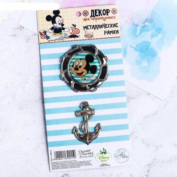 Набор декоративных элементов морской, микки маус, дисней беби