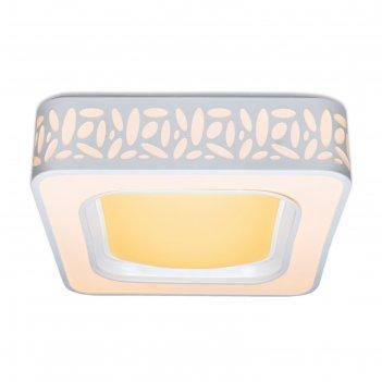 Светильник design f214, 144вт led, 7560лм, 3000-6400к, цвет белый, с пду