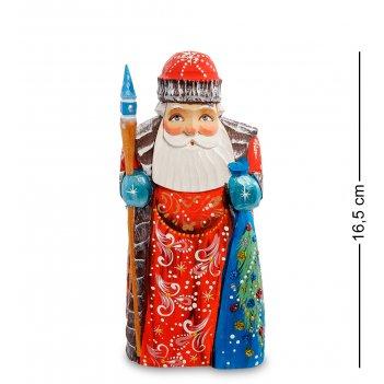 Рд-62 фигурка дед мороз (резной) 18см